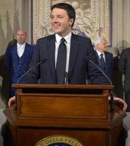 Prime Minister Matteo Renzi